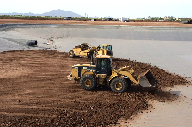 Lake Construction